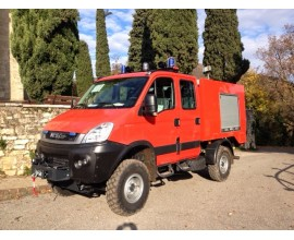 Iveco Daily 4X4. 4p